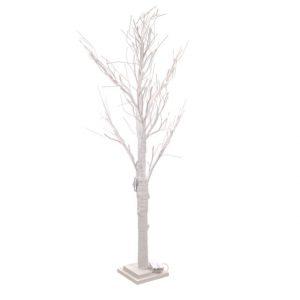 11041561CB White LED Tree 90cm