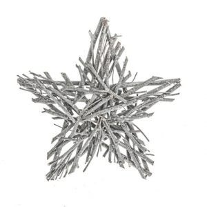 11138254 Rustic twig star 30x5cm