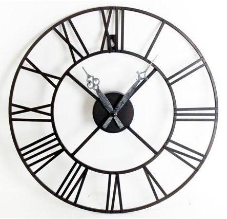 20954R Metal clock 40cm