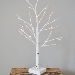 24255R Luxury LED White Birch Tree 60cm
