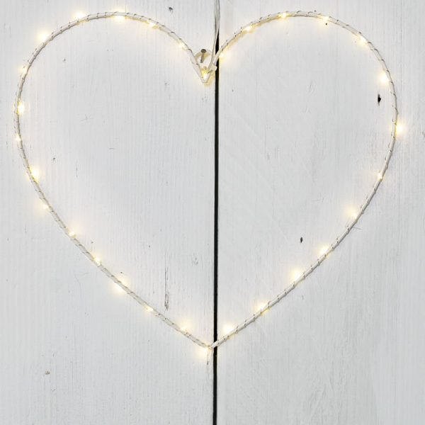 34504 LED Large Hanging Heart