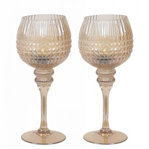 38669CB Candle Holder Cream