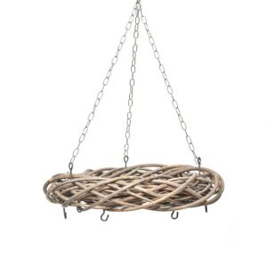 958328 Willow frame with 5 hooks 41cm CB