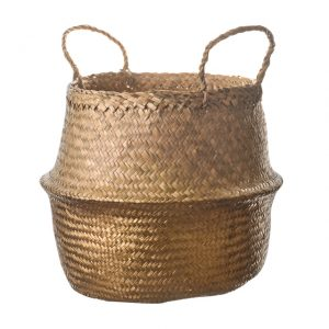 11155886CB Belly basket 30cm gold