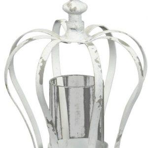 40045R White Crown Tealight Holder