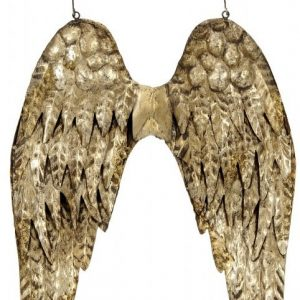 40086R Large Gold Angel Wings 54cm