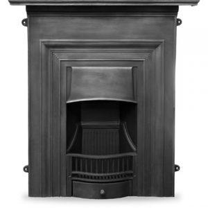 HEF352 Oxford Fireplace Black