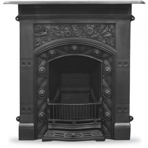HEF403 Jekyll Fireplace Black