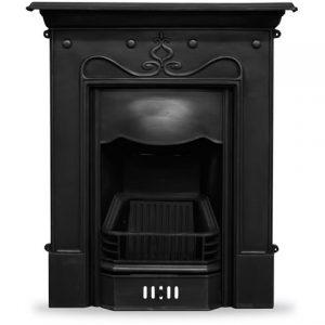 RX089 Tulip Fireplace black