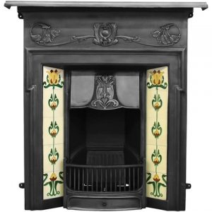 RX132 Morris Fireplace Black