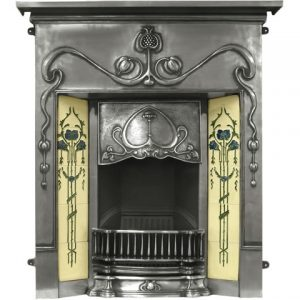 RX133 Valentine Fireplace Polished