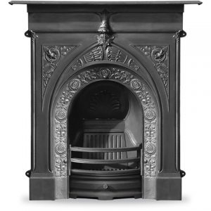 RX140 Knaresborough Fireplace Black