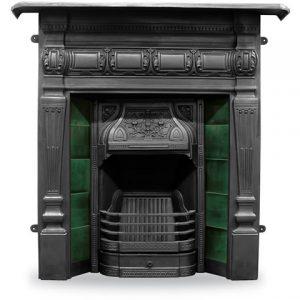 RX160 Lambourn Fireplace Black
