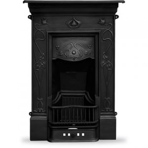 RX247 Crocus Fireplace Black