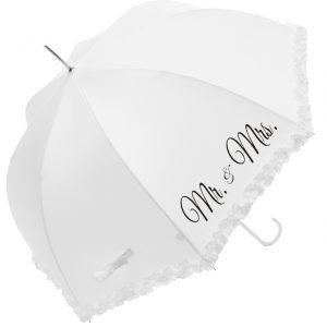 17013 WHI CB Wedding Umbrella White 92cm